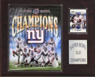 "New York Giants 12"" x 15"" Super Bowl XLII Champions Plaque"