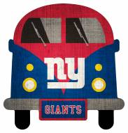 New York Giants Team Bus Sign