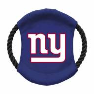 New York Giants Team Frisbee Dog Toy