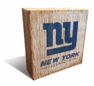 New York Giants Team Logo Block
