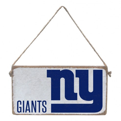 New York Giants Mini Plank