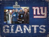 New York Giants Team Name Clip Frame