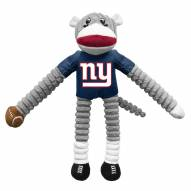 New York Giants Team Sock Monkey Pet Toy