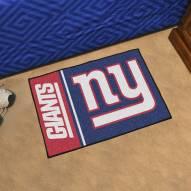 New York Giants Uniform Inspired Starter Rug