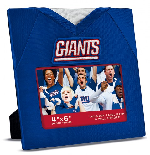 New York Giants Uniformed Picture Frame