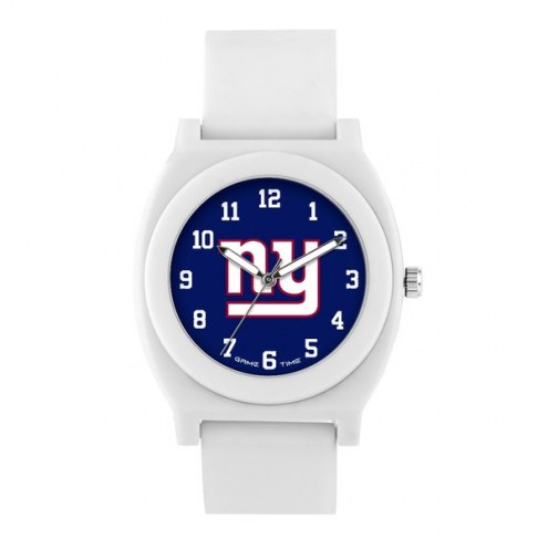 New York Giants Unisex Fan White Watch