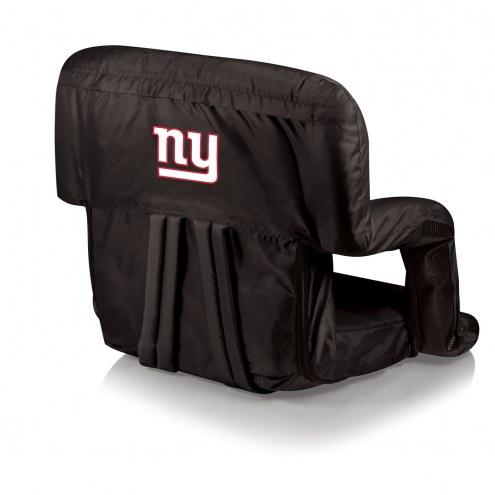 New York Giants Ventura Portable Outdoor Recliner