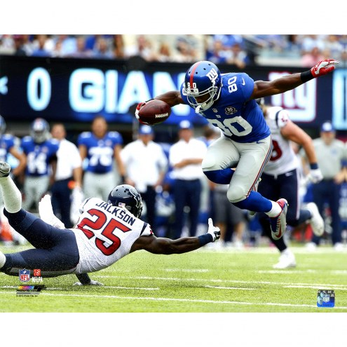 "New York Giants Victor Cruz Juke vs Houston Texans 16"" x 20"" Photo"