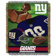 New York Giants Vintage Throw Blanket