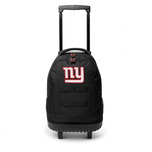 NFL New York Giants Wheeled Backpack Tool Bag