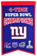 New York Giants Champs Banner