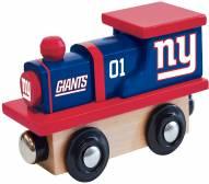 New York Giants Wood Toy Train