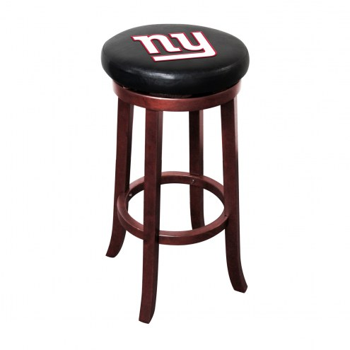 New York Giants Wooden Bar Stool