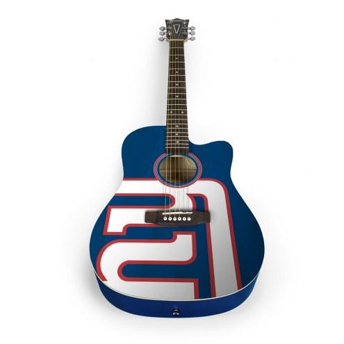 New York Giants Woodrow Acoustic Guitar