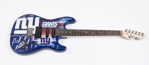 New York Giants Woodrow Northender Electric Guitar