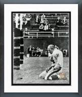 New York Giants Y.A. Tittle Action Framed Photo
