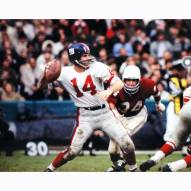 "New York Giants YA Tittle Signed 16"" x 20"" Photo"