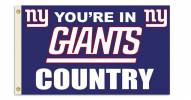 "New York Giants ""You're In Giants Country"" Flag"