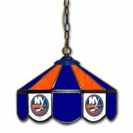 "New York Islanders 14"" Glass Pub Lamp"