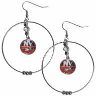 """New York Islanders 2"""" Hoop Earrings"""