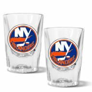 New York Islanders 2 oz. Prism Shot Glass Set