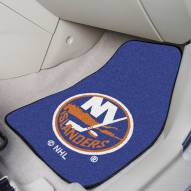 New York Islanders 2-Piece Carpet Car Mats
