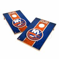 New York Islanders 2' x 3' Vintage Wood Cornhole Game