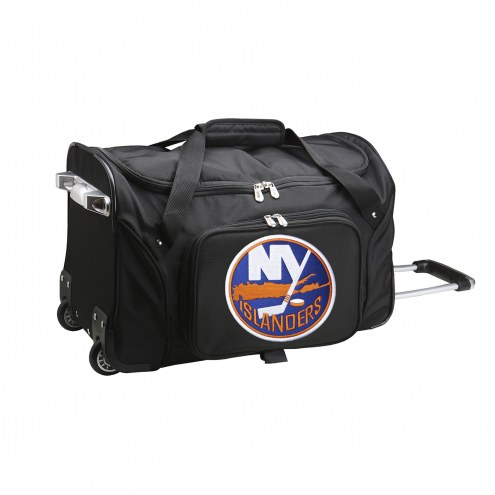 "New York Islanders 22"" Rolling Duffle Bag"