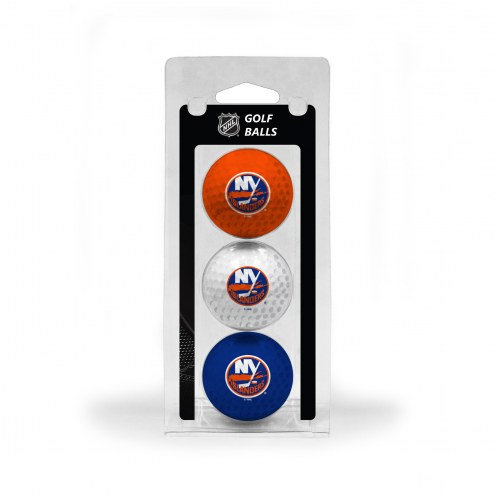 New York Islanders 3 Pack of Golf Balls