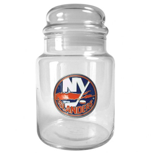 New York Islanders 31 Oz. Glass Candy Jar