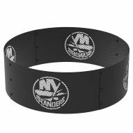 "New York Islanders 36"" Round Steel Fire Ring"