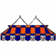 "New York Islanders 40"" Stained Glass Billiard Lamp"