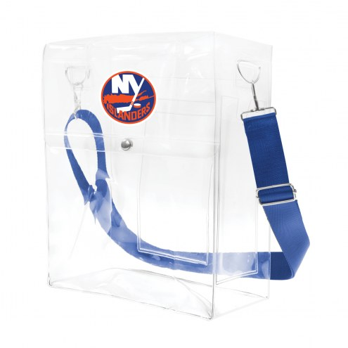New York Islanders Clear Ticket Satchel