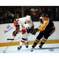 "New York Islanders Bob Bourne vs. Kings Signed 16"" x 20"" Photo"