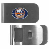 New York Islanders Bottle Opener Money Clip