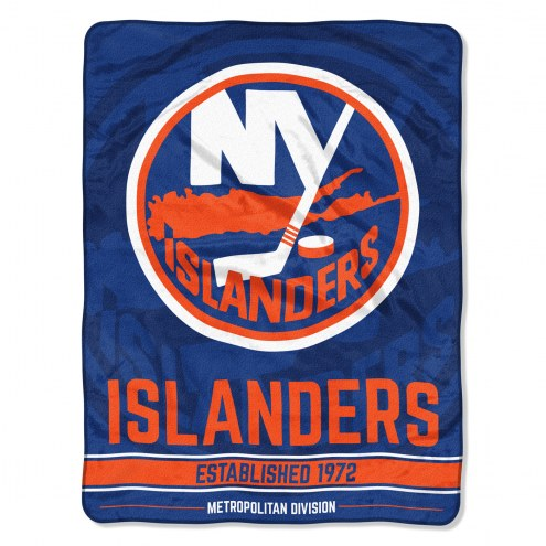 New York Islanders Break Away Blanket
