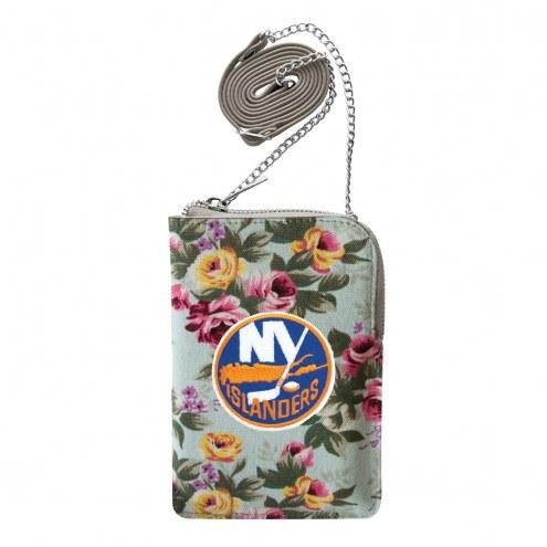 New York Islanders Canvas Floral Smart Purse