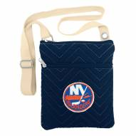 New York Islanders Chevron Stitch Crossbody Bag