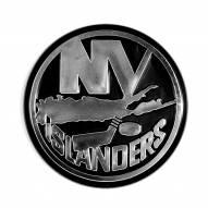 New York Islanders Chrome Car Emblem