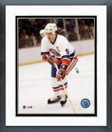 New York Islanders Clark Gillies Action Framed Photo