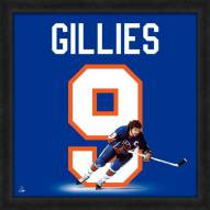 New York Islanders Clark Gillies Uniframe Framed Jersey Photo