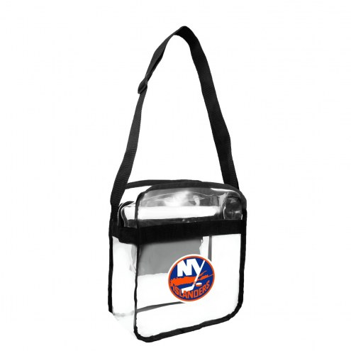 New York Islanders Clear Crossbody Carry-All Bag