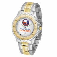 New York Islanders Competitor Two-Tone Men's Watch