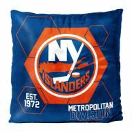 New York Islanders Connector Double Sided Velvet Pillow