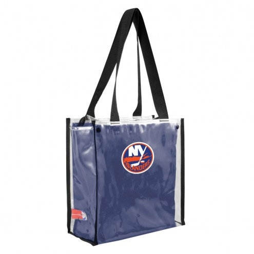 New York Islanders Convertible Clear Tote