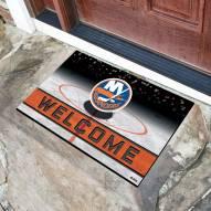 New York Islanders Crumb Rubber Door Mat