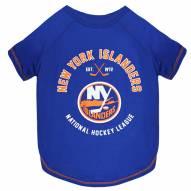 New York Islanders Dog Tee Shirt