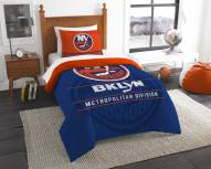 New York Islanders Draft Twin Comforter Set