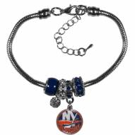 New York Islanders Euro Bead Bracelet