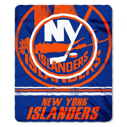New York Islanders Fade Away Fleece Blanket